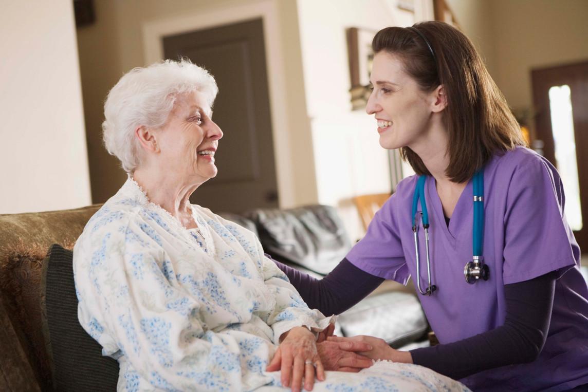Nurse-Senior-Care