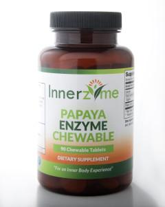 Innerzyme Papaya Enzyme Chewable_90ct